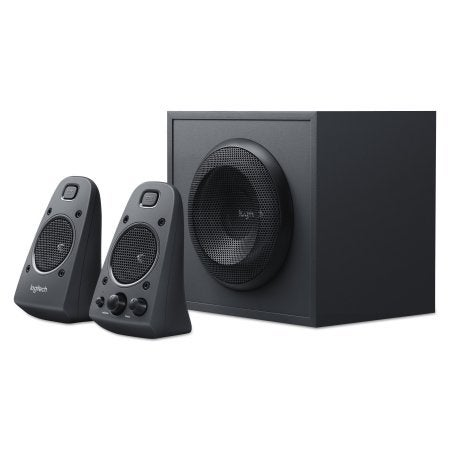 Logitech 980-001258 Z625 Speaker System With Subwoofer And Optical Input