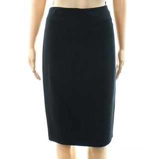 Lauren by Ralph Lauren NEW Black Women Size Small PS Petite Pencil Skirt