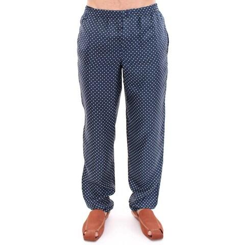 Dolce & Gabbana Dolce & Gabbana Blue Polka Dot SILK Pajama Pants Sleepwear - XS