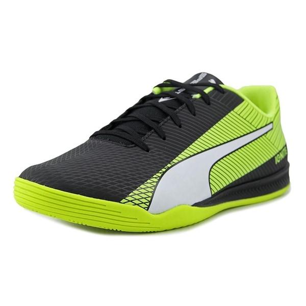 Shop Puma evoSpeed Star S Ignite Women Black-White-Yellow Sneakers ... 99707e7f70