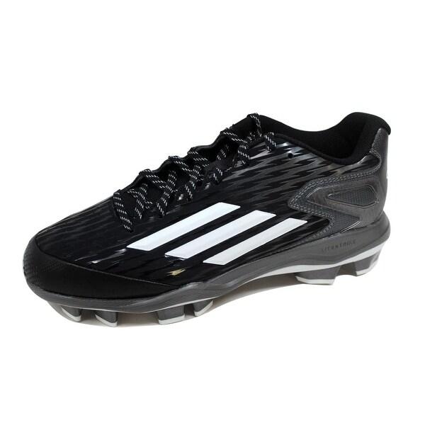 Adidas Men's Power Alley 3 TPU Black/White-Tech Grey S84747