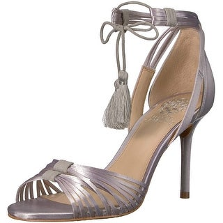 Vince Camuto Womens VC-Stellima Fabric Open Toe Special Occasion Strappy Sand...