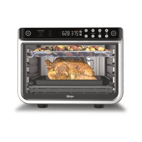 Ninja DT201 Foodi 10-in-1 XL Pro Air Fry Oven, 1800 Watts, Stainless