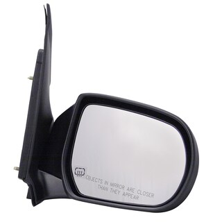 Pilot Automotive TYC 6020041 Black Passenger/ Driver Side Power Heated Replacement Mirror for Mazda MPV