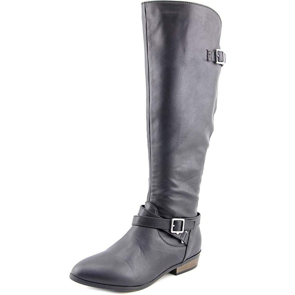 8c56e06bf3a Shop Material Girl Womens Capri Closed Toe Knee High Fashion Boots ...