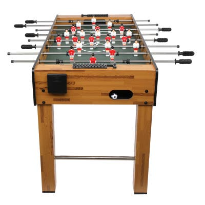 """48"""" Indoor Soccer Game Football Table with Plastic Cup Holder Christmas Families"""