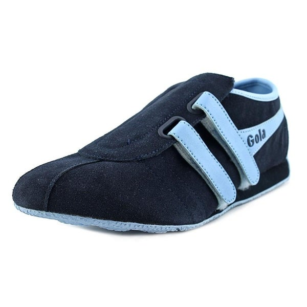 Shop Gola Swift Women Round Toe Leather Blue Loafer - Free Shipping