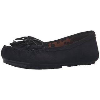 Jellypop Womens Adriana Flats Faux Suede Casual