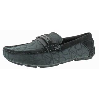 Calvin Klein Merek Men's Slip On Driving Loafers Shoes