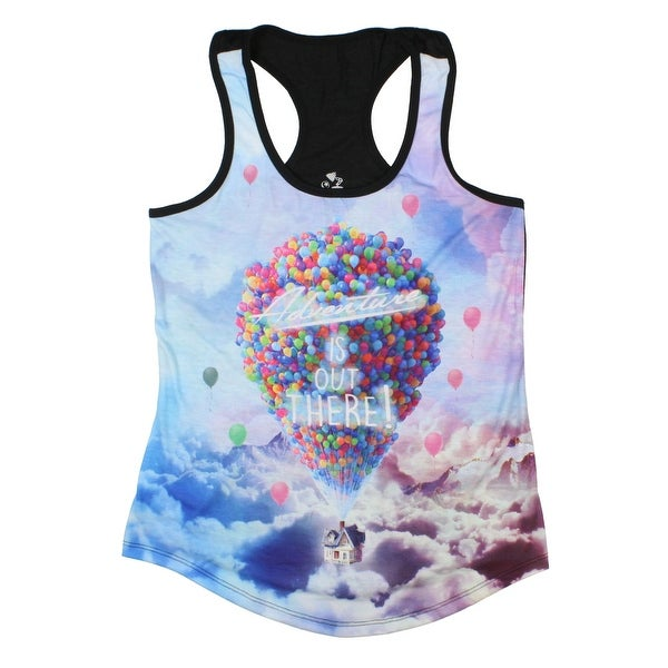 Disney Up Adventure Is Out There Sublimation Girls Tank Top. Opens flyout.
