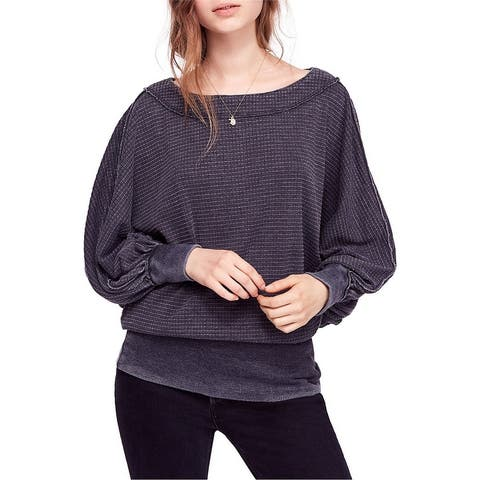 Free People Womens Willow Pullover Blouse