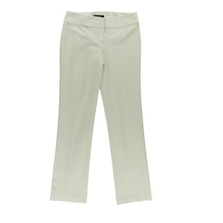 Nine West Womens The Trouser Woven Stretch Dress Pants