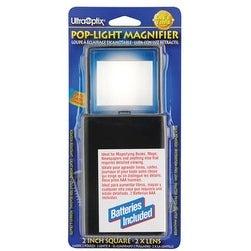 Magnifier Pop-Up Lighted