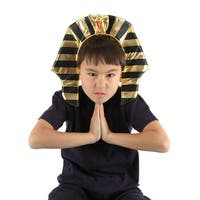 King Tut Headband One Size Fits Most - Gold