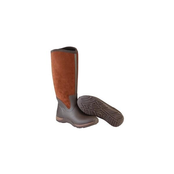 Muck Boot's Arctic Adventure Suede Zip Boots w/ Warm Fleece Lining - Size 7