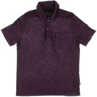BOSS Hugo Boss Mens Sedilo Pocket Short Sleeves Polo Shirt