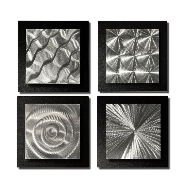 Shop Statements2000 Black/Silver Metal Wall Art Accent Sculpture by ...