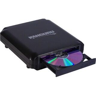 """""""Kanguru Solutions U2-DVDRW-24X Kanguru U2-DVDRW-24X External DVD-Writer - DVD-RAM/±R/±RW Support - 48x CD Read/48x CD"""