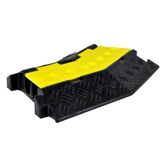 Right-Turn Cable Protective Cover Ramp, Cord/Wire Concealment Protection Track
