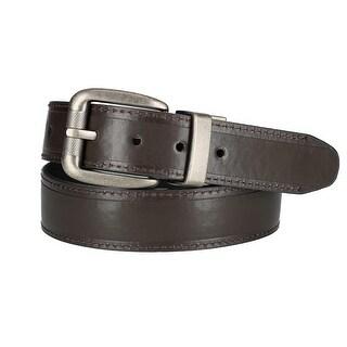 Dickies Boy's Reversible Belt with Antiqued Buckle