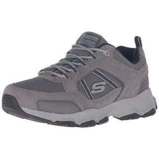 Skechers Sport Men's Burst Tech Oxford, Gray/Navy|https://ak1.ostkcdn.com/images/products/is/images/direct/9068b374015da22544951752b090799a14426f10/Skechers-Sport-Men%27s-Burst-Tech-Oxford%2C-Gray-Navy.jpg?impolicy=medium