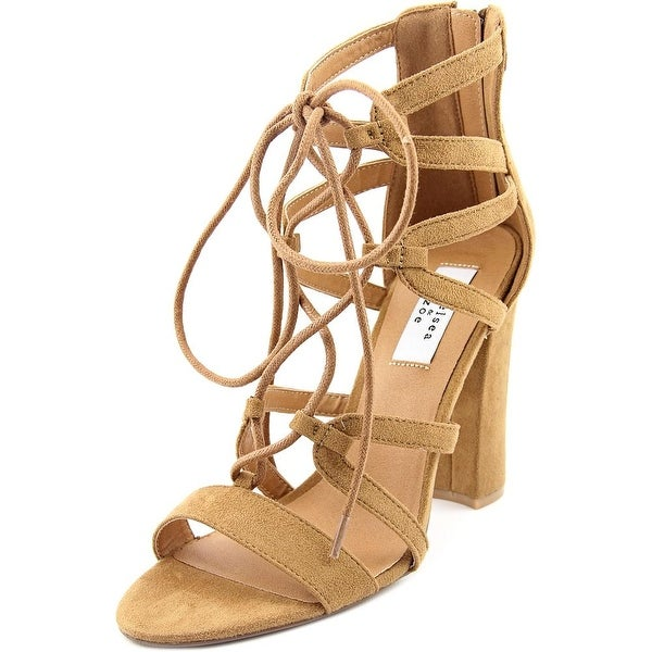 Chelsea & Zoe Elyse Women Camel Sandals