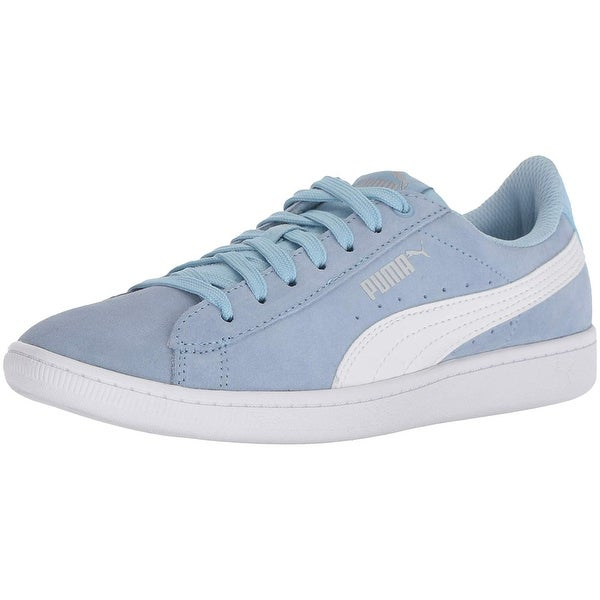 102199ea4179 Shop PUMA Womens Vikky Suede Low Top Lace Up Fashion Sneakers - Free ...