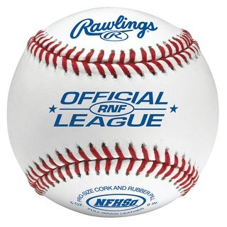 Rawlings High School Baseball with NFHS Stamp (Dozen) White