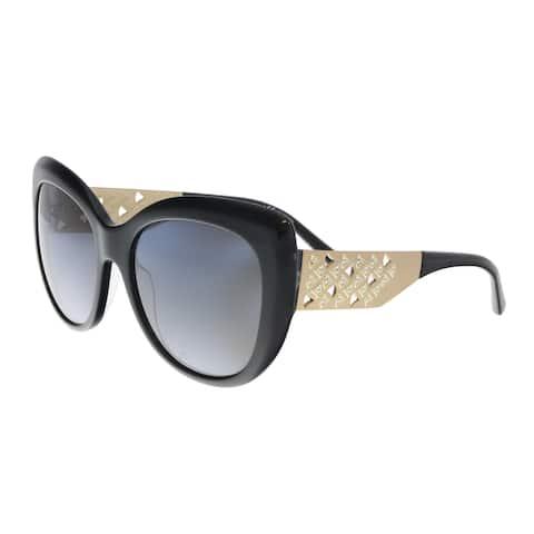 Bulgari BV8198B 5439T3 Black Butterfly Sunglasses - 57-18-140