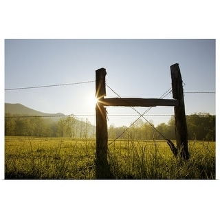 """""""Cades Cove, Great Smoky Mountains National Park"""" Poster Print"""