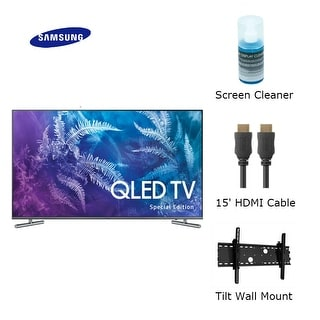 Samsung 49- Inch Class Q6F Special Edition QLED 4K TV Bundle Class Q6F  Special Edition QLED 4K TV | Overstock com Shopping - The Best Deals on LED  TVs