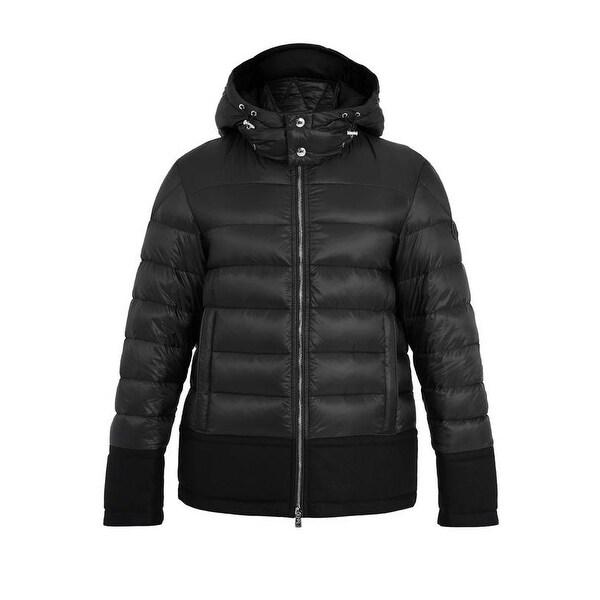 Moncler Men's Rion Black Puffer Coat
