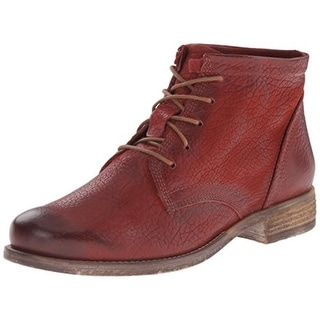Josef Seibel Womens Sienna 03 Ankle Boots Leather Lace Up - 38 medium (b,m)