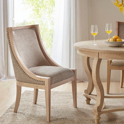 Martha Stewart Elmcrest Linen Dining Chair