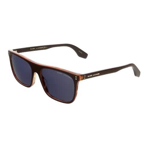 Marc Jacobs MARC393S 009Q Brown Square Sunglasses - 56-17-150
