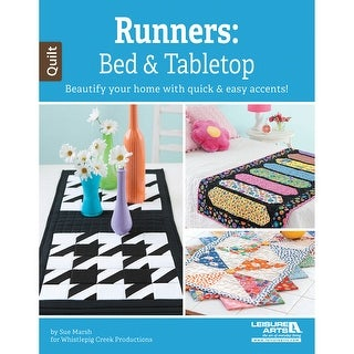 Leisure Arts-Runners: Bed & Tabletop