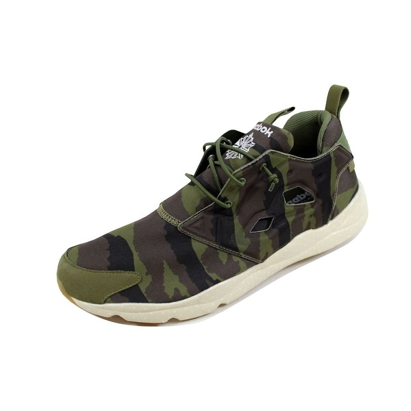 Reebok Men's Furylite GM Canopy Green/Coal-Stone V67790