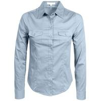 NE PEOPLE Womens Tailored Long Sleeve Button Down Shirt [NEWT507]