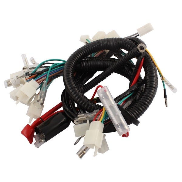 Unique Bargains Motorcycle Ultima Complete System Electrical Main Wiring on