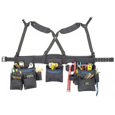 CLC 2617 28-Pocket Framing Master Tool Belt, Ballistic Nylon, 28 Pockets