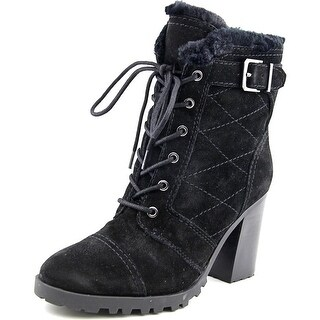 Ivanka Trump Gentry Women Round Toe Suede Ankle Boot