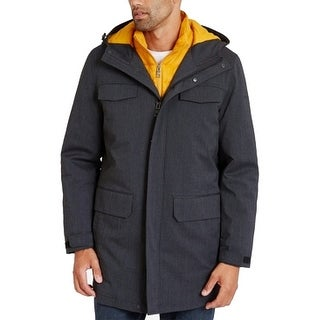 Link to Nautica Mens Jacket Black Yellow 2XL 3 in 1 System Parka Hooded Similar Items in Men's Outerwear