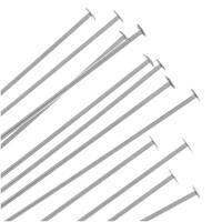 Sterling Silver Head pins 22 Gauge 3 Inch (10)