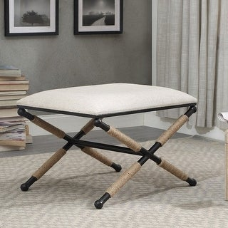 Link to Ella Campaign Accent Stool Similar Items in Living Room Furniture
