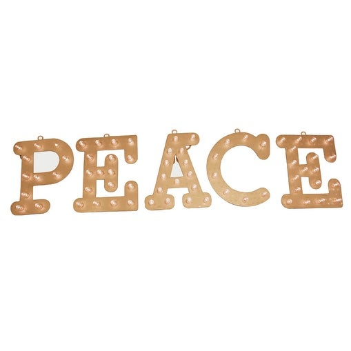 Celebrations 54014-71 Peace Marquee Sign, 12""