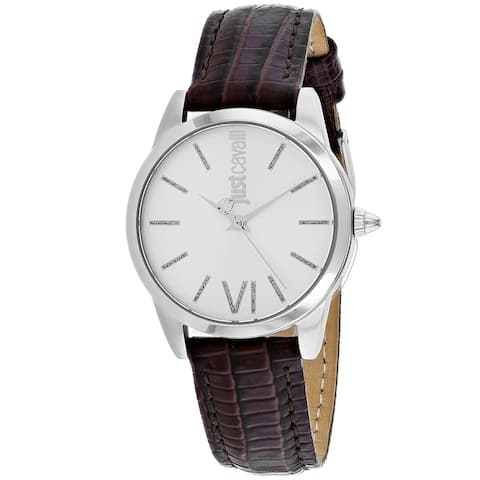 Just Cavalli Women's Relaxed Silver Dial Watch - JC1L010L0015 - One Size