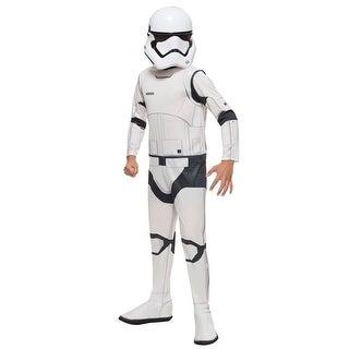Child Classic Star Wars Force Awakens Stormtrooper Costume