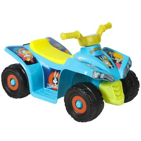 Looney Tunes 6V Quad with Rechargeable Battery