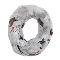 David & Young Women's Happy Snowman Infinity Loop Scarf - One size