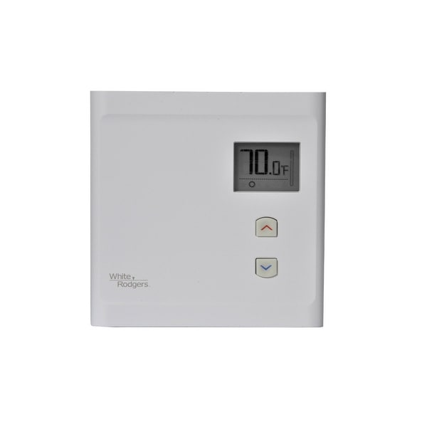 White Rodgers BNP125 Electronic Non-Programmable Line Voltage Thermsotat